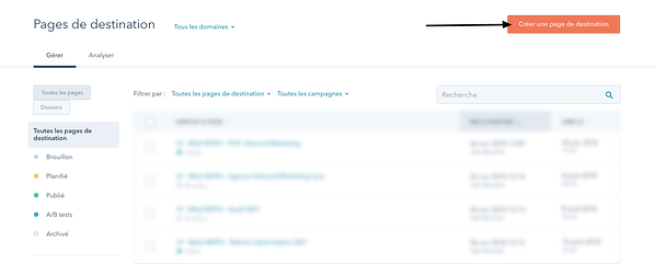 Pages de destination _HubSpot copie