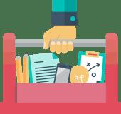 marketing tool box