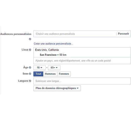 page carriere facebook