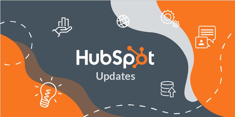 [Update] Les nouveautés et mises à jour HubSpot - Décembre 2019